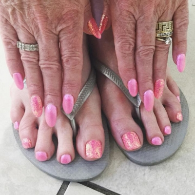 Matching Manicures and Pedicures