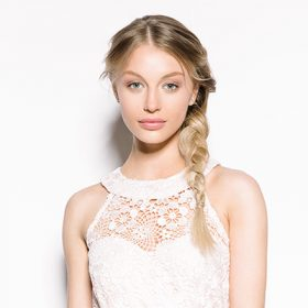 Proms and Special Occasions Blond Braid