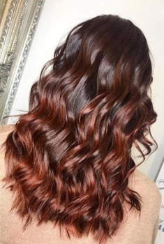Beautiful Curls and Colour
