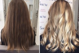 Colour change to honey blonde