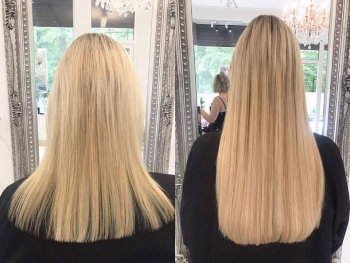 Full head of bonds for length and thickness