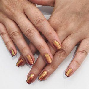 Beautiful Chrome Nails