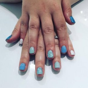 Icy Blues Gorgeous Nails