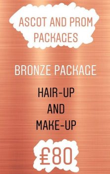 Amore Prom or Ascot Bronze Package