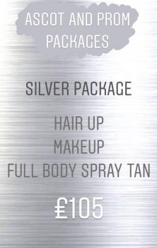 Amore Prom or Ascot Silver Package